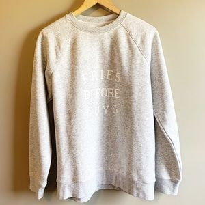 Brunette The Label Sweater Small